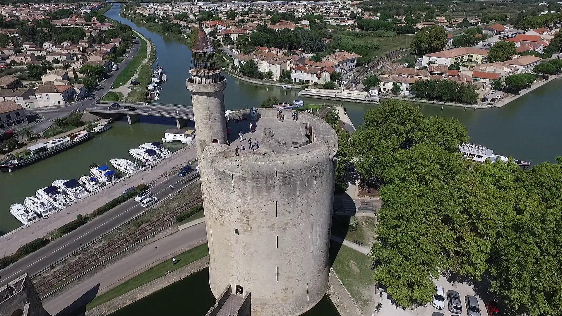 Permalien à:Drones et Patrimoine – Reportages à Aigues-Mortes