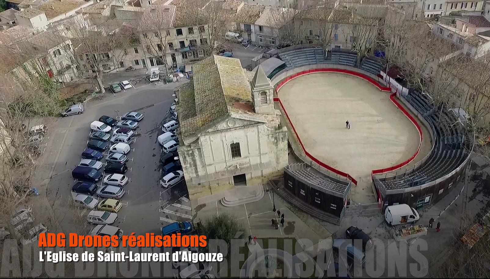 Permalien à:Drones et patrimoine – L'église de Saint-Laurent d'Aigouze