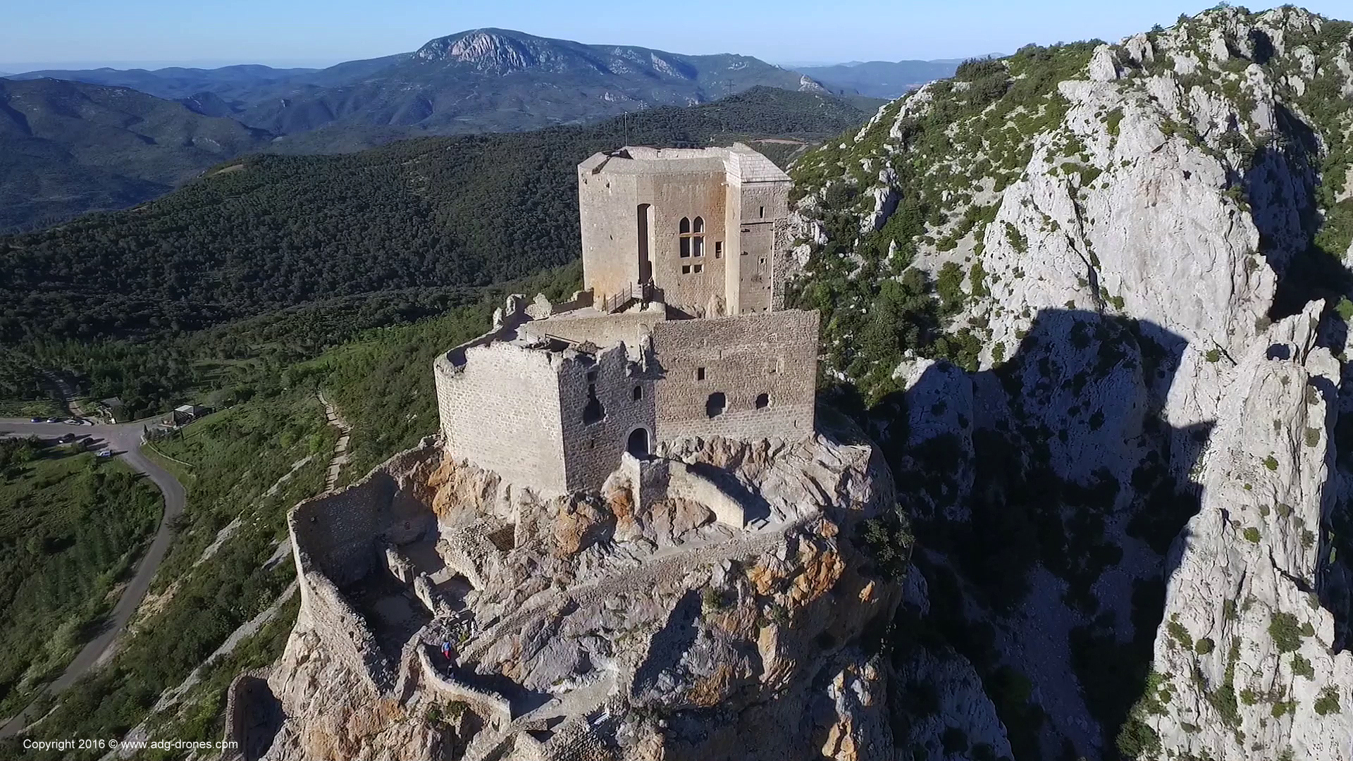 Permalien à:Modélisation 3D – Château de Quéribus