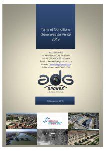 thumbnail of ADG DRONES TARIFS ET CGV 2019