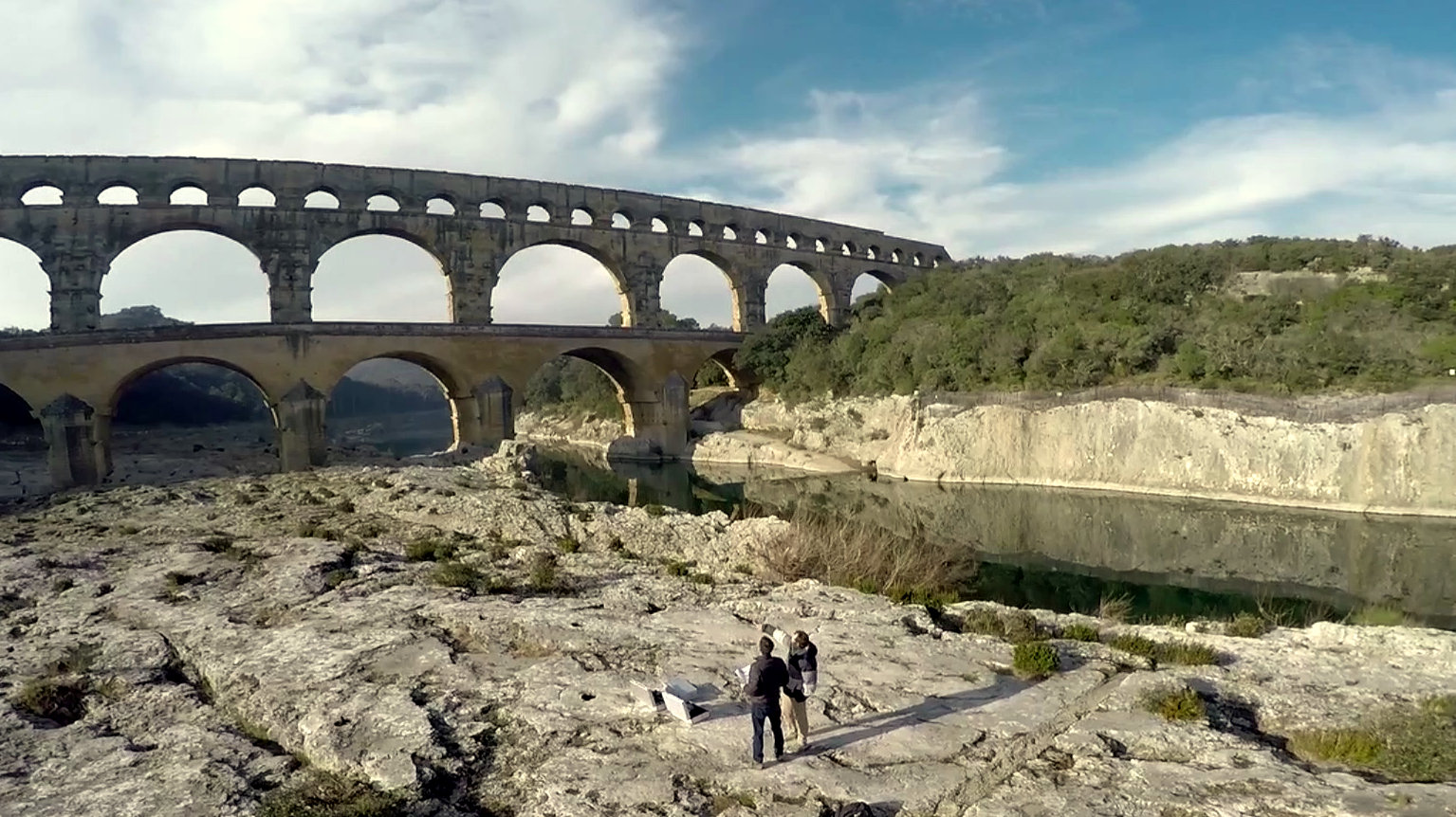 Permalien à:Modélisation 3D du Pont du Gard: Le making-of